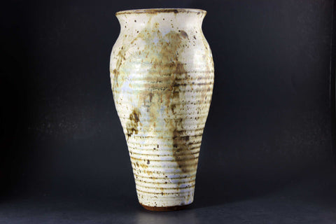 Large Brown Toned Studio Pottery Vase