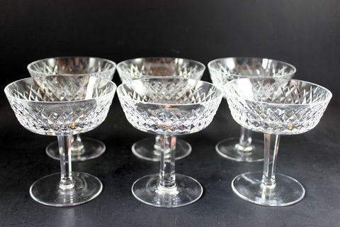 Waterford Crystal, Alana, High Dessert/Champagne Glasses