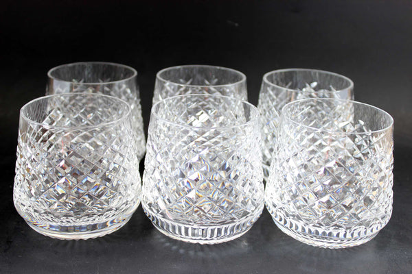 Waterford Crystal Alana, Roly Poly Rocks Glasses