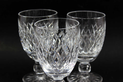 Waterford Crystal, Claret in Boyne Pattern