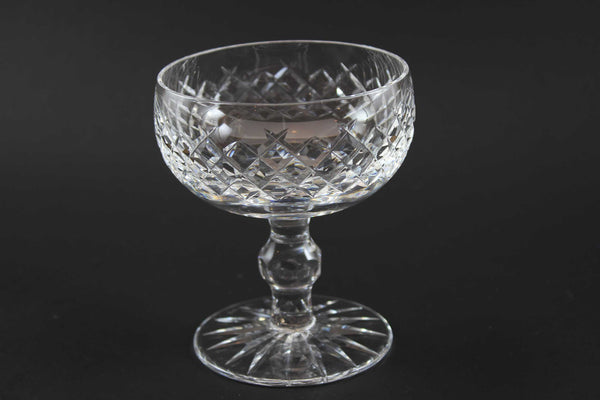 Waterford Crystal-Champagne in Boyne Pattern (Cut Foot)