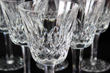 Waterford Crystal, Vintage Lismore, White Wine Glasses