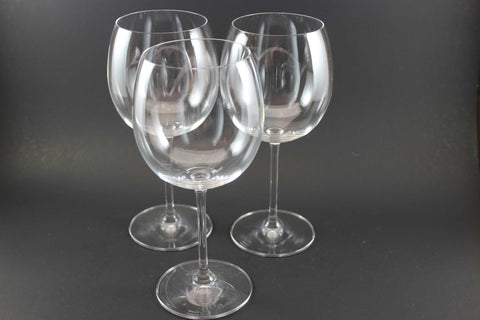 Waterford Crystal Marquis Large Red Wine Glasses