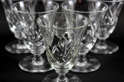 Webb Corbett Crystal, Juice Glasses