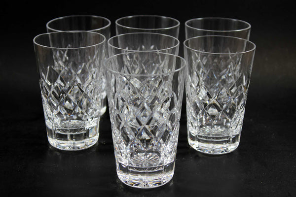 Webb Corbett Crystal, Juice or Small Tumblers