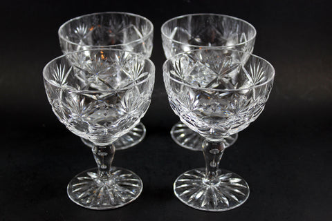 Webb Corbett Champagne/Sorbet Glasses, Chantilly