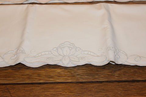 Embroidered White Work Pillowcases