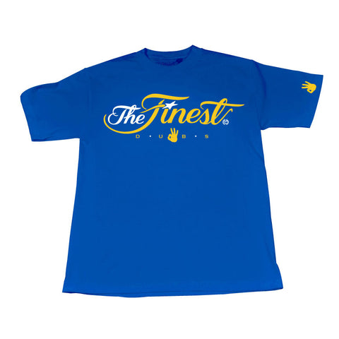 Finest Blue Dubs Edition (WhiteYellow/Blue Tee)
