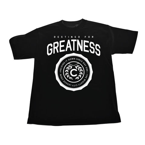 Destined for Greatness (White/Black Tee)