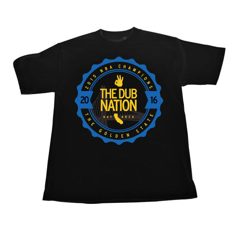 CLC Dub Nation (BlueYellow/Black Tee)