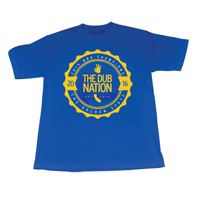 CLC Dub Nation (WhiteYellow/Blue Tee)