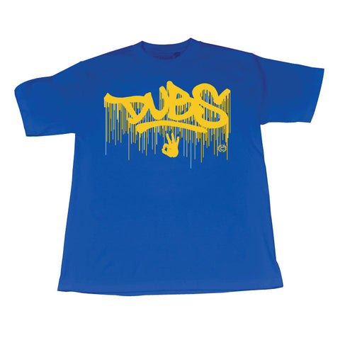 In the Paint (Yellow/Blue Tee)