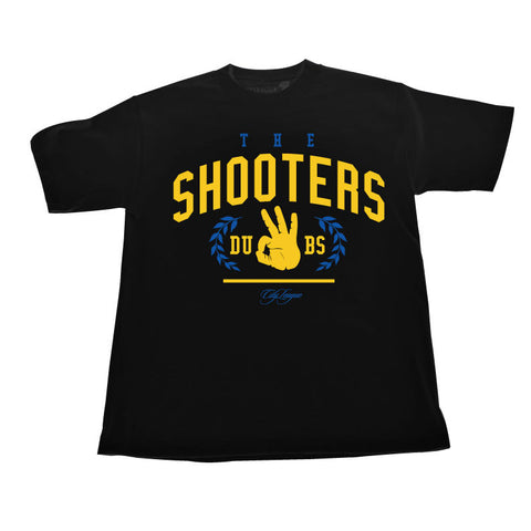 The Shooters (BlueYellow/Black Tee)