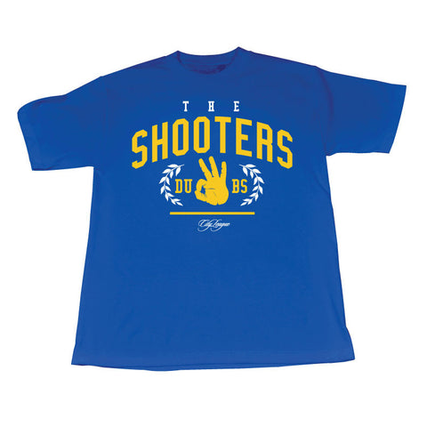 The Shooters (WhiteYellow/Blue Tee)