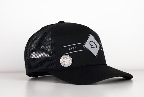 Risk.Reward® Golf Hat with Ball Marker -  BLK DIAMOND