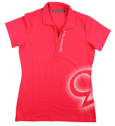 Risk.Reward® Ladies Golf Polo | Dotty - RISK REWARD GOLF