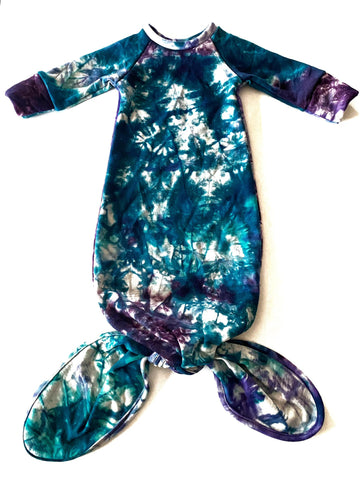 Merino Wool Jersey Infant Gown ROUND 2 TESTER