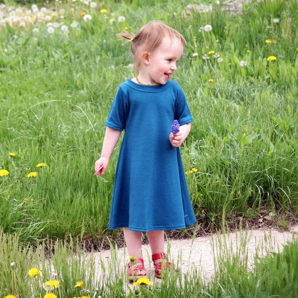 Merino Baby/Toddler Dress
