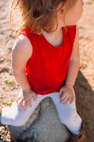 Merino Wool Children's Tank