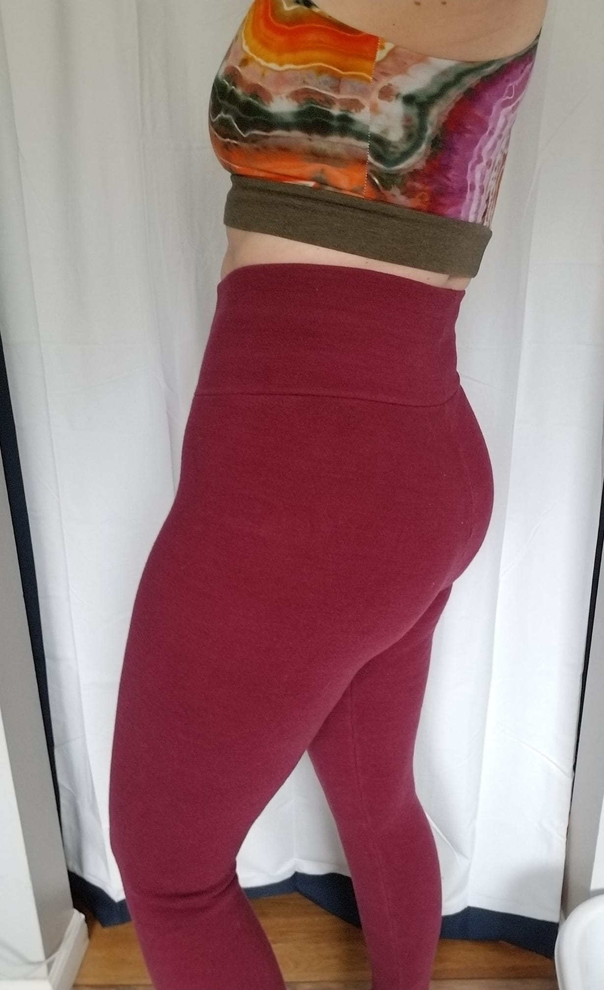Interlock Mama Wool Leggings