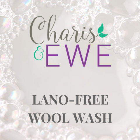 Charis 'N Ewe Lanolin-Free Wool Wash - Unscented