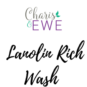 Charis 'N Ewe Lanolin-Rich Wool Wash - Unscented