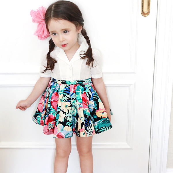 Kimberly Floral Dress [WHITE / 5-6 YRS]