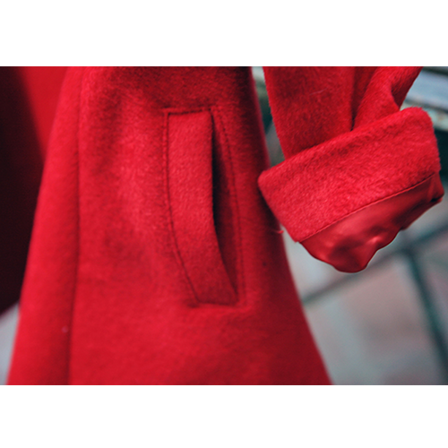 Cindy Flare Coat [RED / 4-5 YRS]