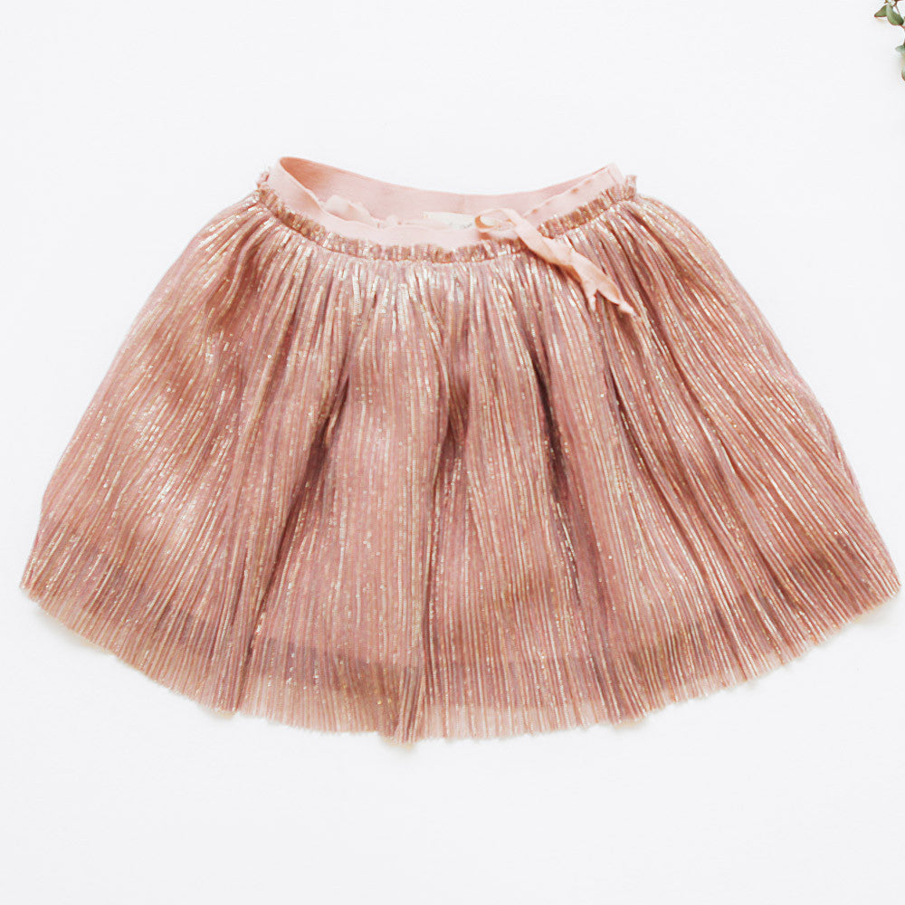 Fern Pleated Skirt, little girls pleated skirt in pink