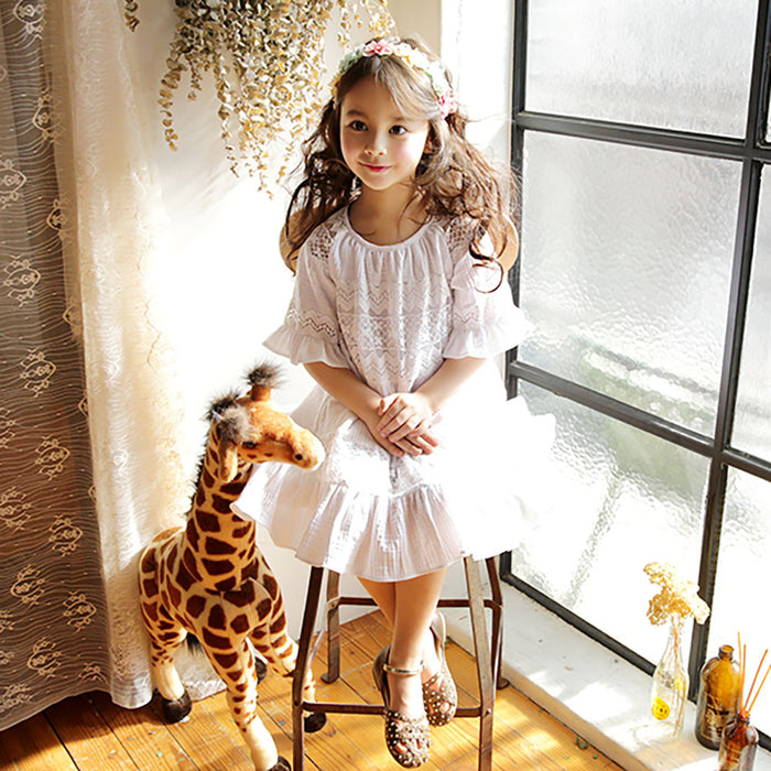 Brenda Ruffle Dress [5-6 YEARS]