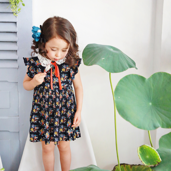 Becky Floral Dress [6-7 YEARS]