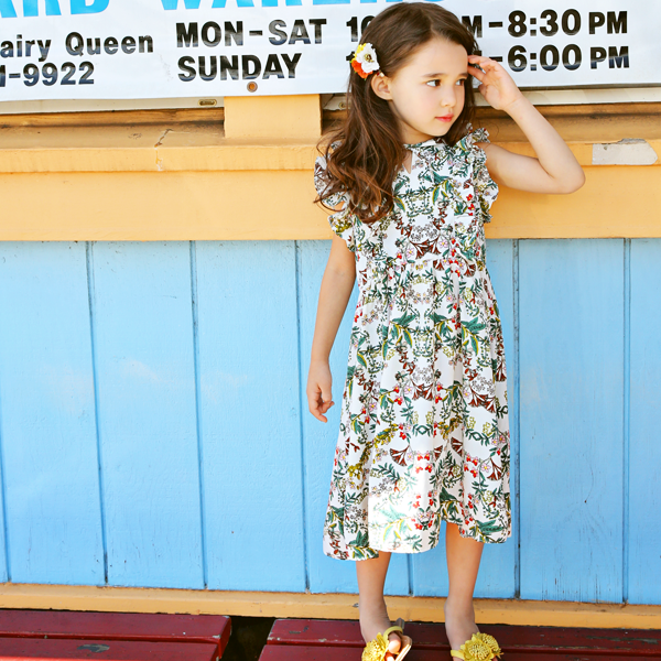 Minerva Floral Dress [4-5 YEARS]