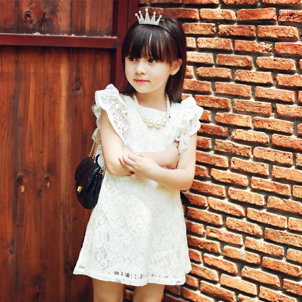 Amelia Lace Dress [6-7 YEARS]