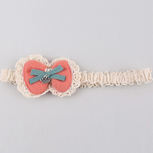 Courteney Crochet Lace Bow Hairband