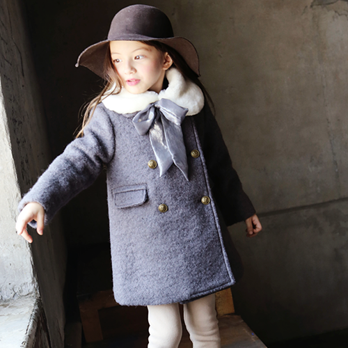 Lily Wool Boucle Coat [3-4 YEARS]