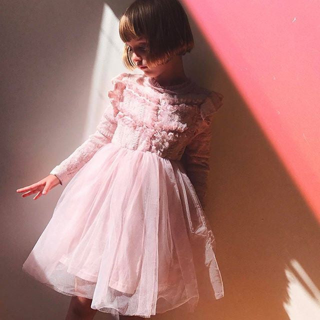 Rowan Tulle Dress [IVORY / 6-7 YRS]