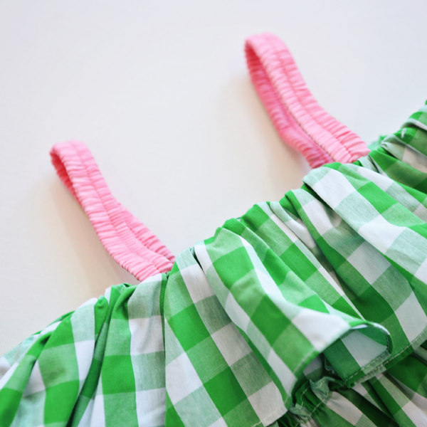 Sally Gingham Dress