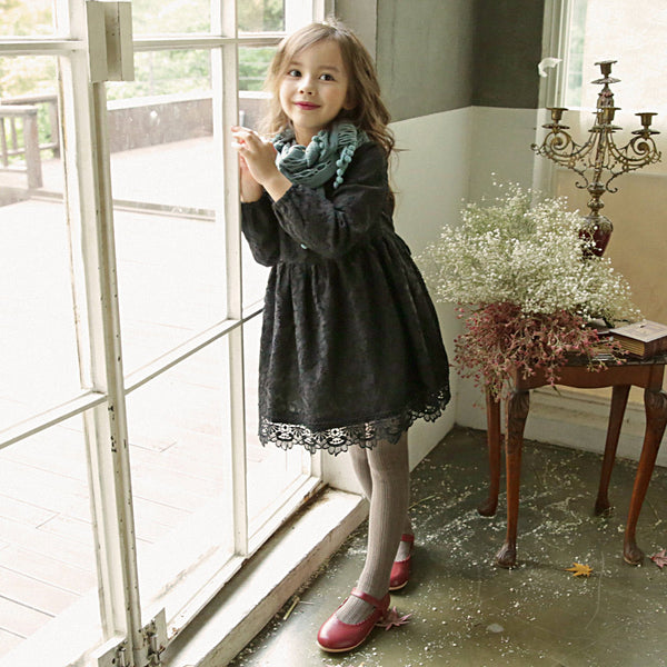 Valerie Lace Dress For Little girls, pretty lace dress
