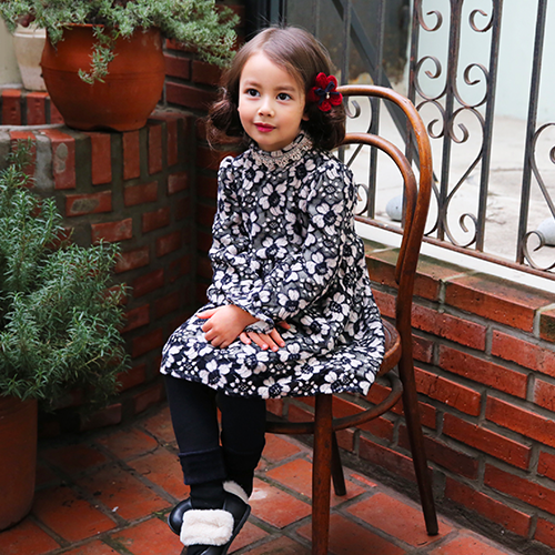 Hermion Lace Dress [IVORY / 5-6 YRS]