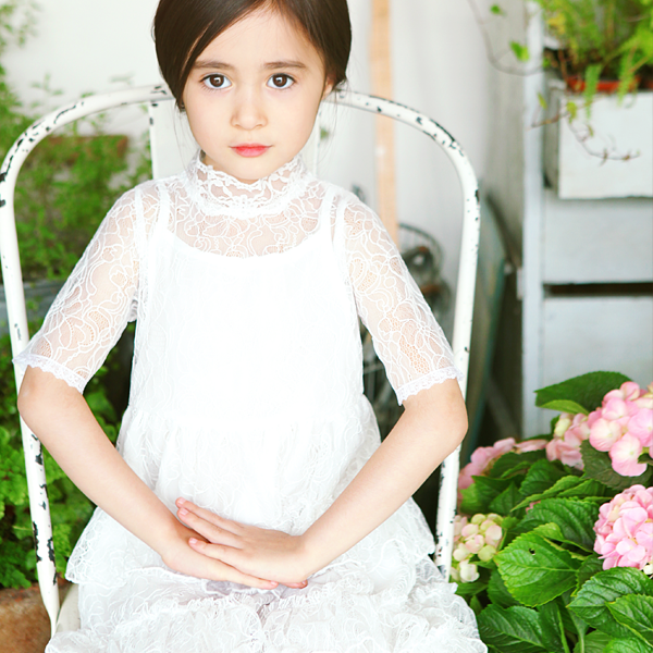 Clara Lace Tiered Dress