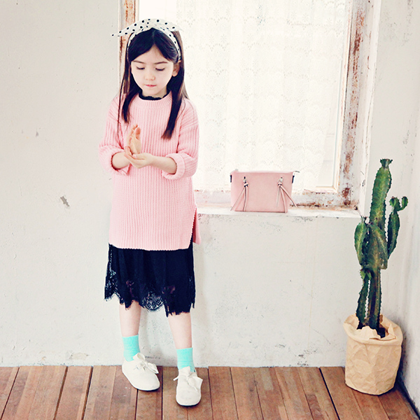 Jules Knit - Pink [7-8 YEARS]