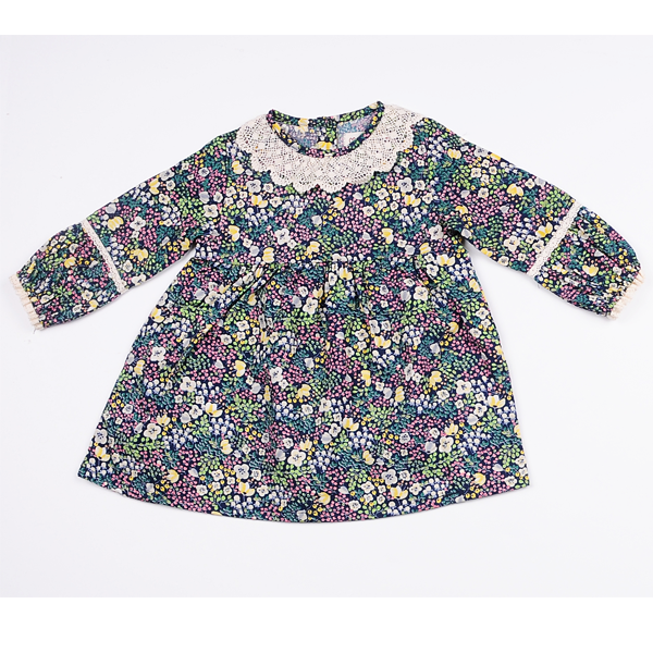 Mary Floral Crochet Dress [4-5 YEARS]