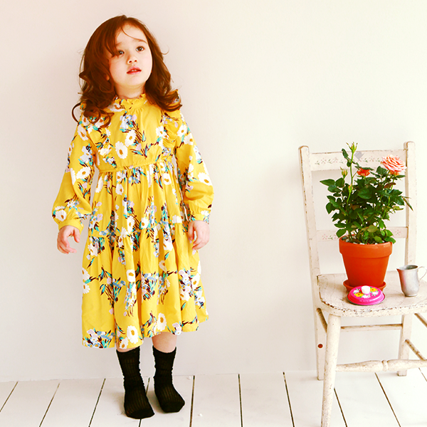 Annie Floral Long Dress