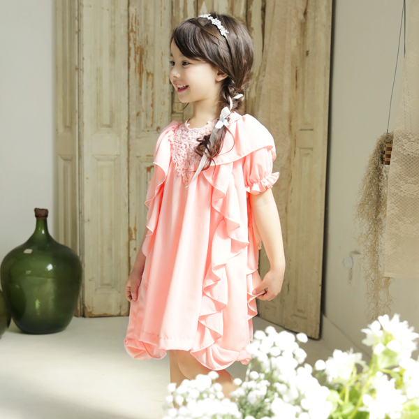Daphne Ruffle Dress [2-3 YEARS]