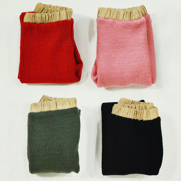 Lola Knitted Leggings, little girls leggings