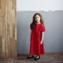 Load image into Gallery viewer, Grady Maxi Dress [RED / 4-5 YRS]