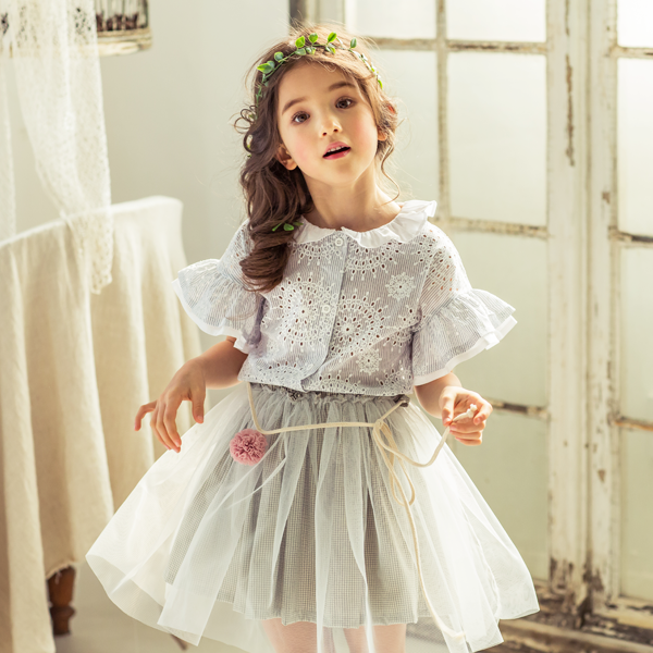 Jane Ruffle Blouse [3-4 YEARS]