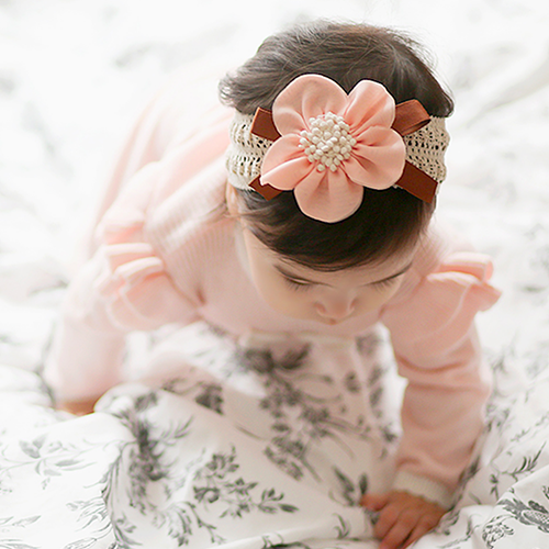 Kate Flower Hairband [MINT]
