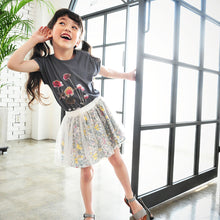 Load image into Gallery viewer, Brielle Floral Tulle Skirt [2-3 YRS, 3-4 YRS]