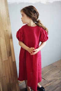 Grady Maxi Dress [RED / 4-5 YRS]